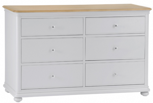 Manhattan Grey 6 Drawer Chest